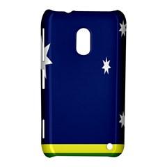 Flag Star Blue Green Yellow Nokia Lumia 620