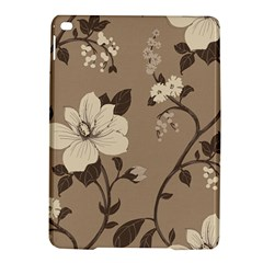 Floral Flower Rose Leaf Grey iPad Air 2 Hardshell Cases