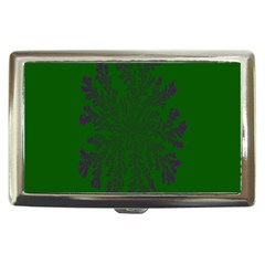 Dendron Diffusion Aggregation Flower Floral Leaf Green Purple Cigarette Money Cases