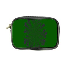 Dendron Diffusion Aggregation Flower Floral Leaf Green Purple Coin Purse