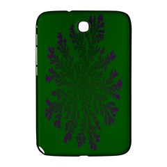Dendron Diffusion Aggregation Flower Floral Leaf Green Purple Samsung Galaxy Note 8.0 N5100 Hardshell Case