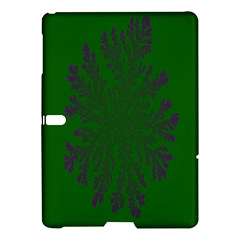 Dendron Diffusion Aggregation Flower Floral Leaf Green Purple Samsung Galaxy Tab S (10.5 ) Hardshell Case