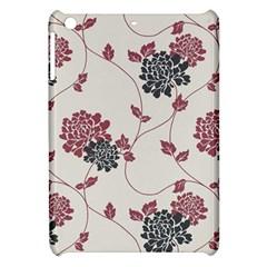 Flower Floral Black Pink Apple iPad Mini Hardshell Case