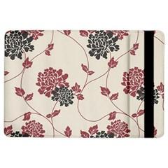 Flower Floral Black Pink iPad Air 2 Flip