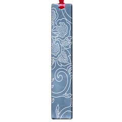 Flower Floral Blue Rose Star Large Book Marks
