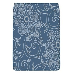 Flower Floral Blue Rose Star Flap Covers (S)