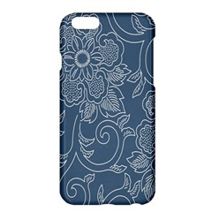 Flower Floral Blue Rose Star Apple iPhone 6 Plus/6S Plus Hardshell Case