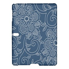 Flower Floral Blue Rose Star Samsung Galaxy Tab S (10 5 ) Hardshell Case