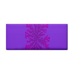 Dendron Diffusion Aggregation Flower Floral Leaf Red Purple Cosmetic Storage Cases
