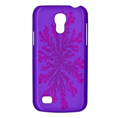 Dendron Diffusion Aggregation Flower Floral Leaf Red Purple Galaxy S4 Mini