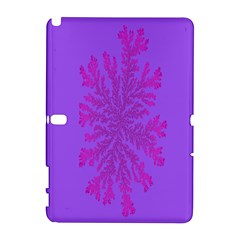 Dendron Diffusion Aggregation Flower Floral Leaf Red Purple Galaxy Note 1