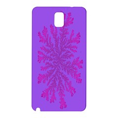 Dendron Diffusion Aggregation Flower Floral Leaf Red Purple Samsung Galaxy Note 3 N9005 Hardshell Back Case