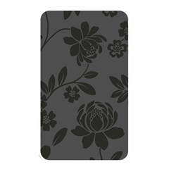Flower Floral Rose Black Memory Card Reader