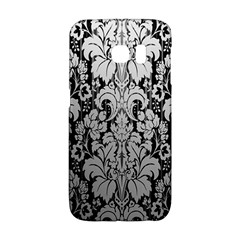 Flower Floral Grey Black Leaf Galaxy S6 Edge