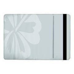 Hibiscus Sakura Glacier Gray Samsung Galaxy Tab Pro 10.1  Flip Case