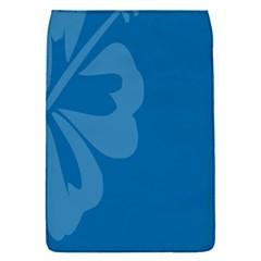 Hibiscus Sakura Classic Blue Flap Covers (S)