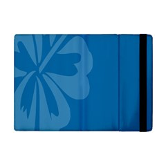 Hibiscus Sakura Classic Blue iPad Mini 2 Flip Cases