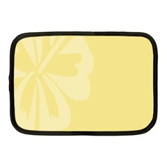 Hibiscus Custard Yellow Netbook Case (Medium)