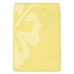 Hibiscus Custard Yellow Flap Covers (S)
