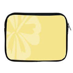 Hibiscus Custard Yellow Apple iPad 2/3/4 Zipper Cases