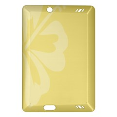 Hibiscus Custard Yellow Amazon Kindle Fire HD (2013) Hardshell Case