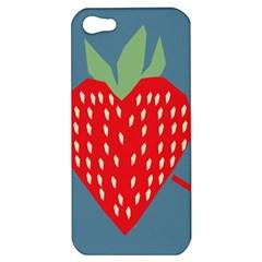 Fruit Red Strawberry Apple iPhone 5 Hardshell Case