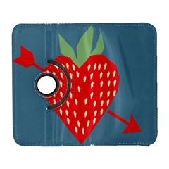 Fruit Red Strawberry Galaxy S3 (flip/folio)