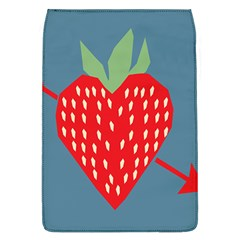 Fruit Red Strawberry Flap Covers (L)