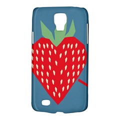 Fruit Red Strawberry Galaxy S4 Active