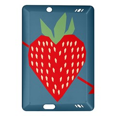 Fruit Red Strawberry Amazon Kindle Fire HD (2013) Hardshell Case