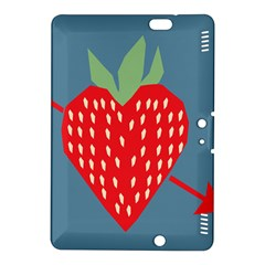 Fruit Red Strawberry Kindle Fire HDX 8.9  Hardshell Case