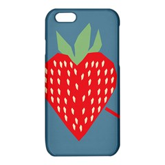 Fruit Red Strawberry iPhone 6/6S TPU Case