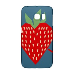Fruit Red Strawberry Galaxy S6 Edge
