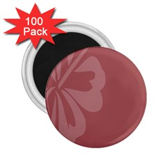 Hibiscus Sakura Red 2.25  Magnets (100 pack)