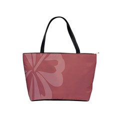Hibiscus Sakura Red Shoulder Handbags