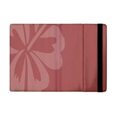 Hibiscus Sakura Red Apple iPad Mini Flip Case