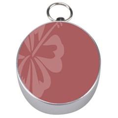 Hibiscus Sakura Red Silver Compasses