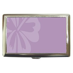 Hibiscus Sakura Lavender Herb Purple Cigarette Money Cases
