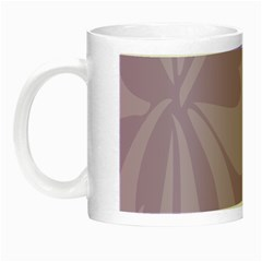 Hibiscus Sakura Lavender Herb Purple Night Luminous Mugs