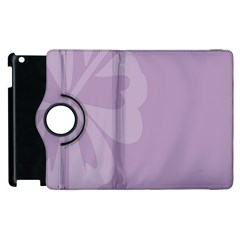 Hibiscus Sakura Lavender Herb Purple Apple iPad 2 Flip 360 Case