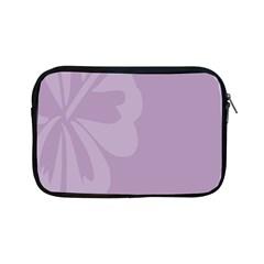 Hibiscus Sakura Lavender Herb Purple Apple iPad Mini Zipper Cases
