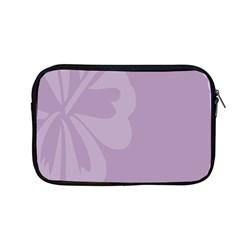 Hibiscus Sakura Lavender Herb Purple Apple Macbook Pro 13  Zipper Case
