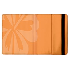 Hibiscus Sakura Tangerine Orange Apple iPad 2 Flip Case