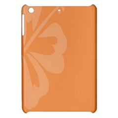 Hibiscus Sakura Tangerine Orange Apple iPad Mini Hardshell Case
