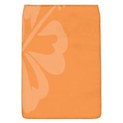 Hibiscus Sakura Tangerine Orange Flap Covers (S)