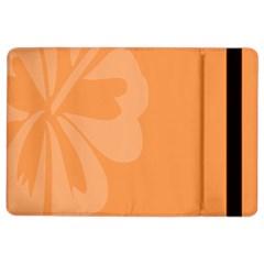 Hibiscus Sakura Tangerine Orange iPad Air 2 Flip