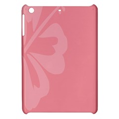 Hibiscus Sakura Strawberry Ice Pink Apple iPad Mini Hardshell Case