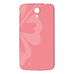 Hibiscus Sakura Strawberry Ice Pink Samsung Galaxy Mega I9200 Hardshell Back Case