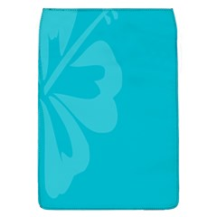Hibiscus Sakura Scuba Blue Flap Covers (L)