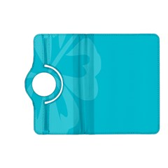 Hibiscus Sakura Scuba Blue Kindle Fire HD (2013) Flip 360 Case